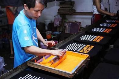 Cetak Baju /T shirt Printing J.Bahru
