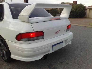Subaru GC8 spoiler