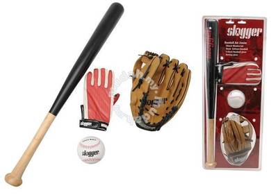 Baseball Junior Set with Bat 24 Inches
