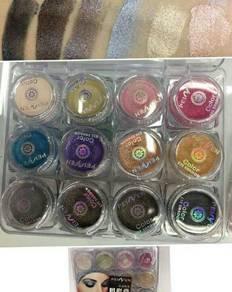 Peiyen glitter eyeshadow cream 1 set 12pcs