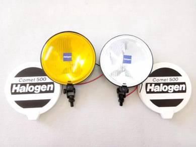 Sport Light COMET-500 Kuning Putih 6 inci - BARU