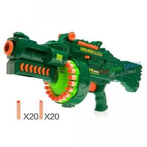 Soft Bullet Gun Toy with 40pcs Bullets