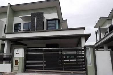Brand New Double Storey Semi D House at Fullerton Villa, Arang Road