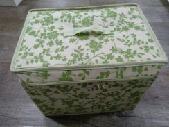 Storage Box with double zipper
