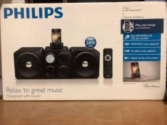 Philips Speaker - New - with Mobile Phone charger