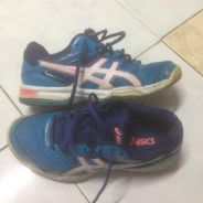 Asic Gel Rocket Blue