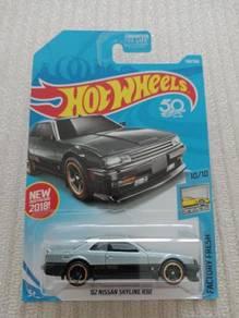 Hotwheels 82 Nissan Skyline R30 US Card
