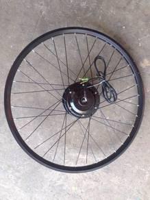 36 inch hub motor ebike complete DIY kit