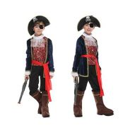 Kids Children Role Luxury Pirate Costume