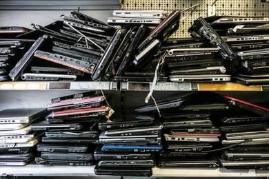 Beli rosak laptops faulty notebook