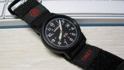 Timex watch Expedition Camper Black red
