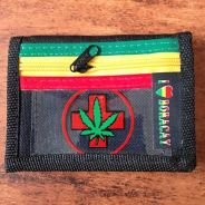 Rasta Cross Motive Purse
