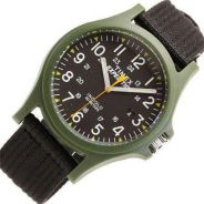 Timex watch Expedition Camper Black Nylon
