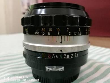 Nikon Nikkor-SC 50mm f1.4