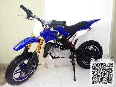 Mini Motocross - Mini Dirt Bike 49cc Blue White