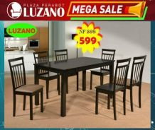 1+6 wooden Dining set (Cg-440) 22/6