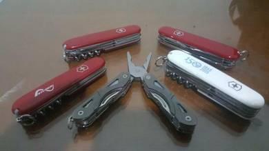 Combo 4 swiss knife dan 1 gebber