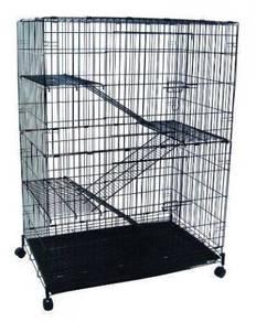 New Bigger Cat Cage - Sangkar Kucing Besar 3 Tkt