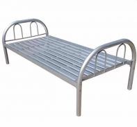 Durable & Reliable Metal Bed Frame (Silver Grey)