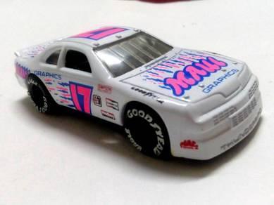1993 Matchbox FORD THUNDER BIRD STOCK CAR Goodyear