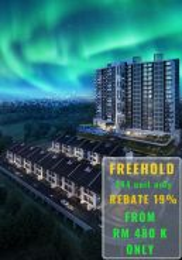 Low density Free hold 19% rebates