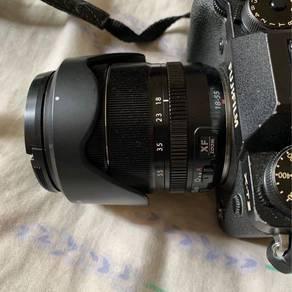 Fujifilm 18-55 f2.8-5.6