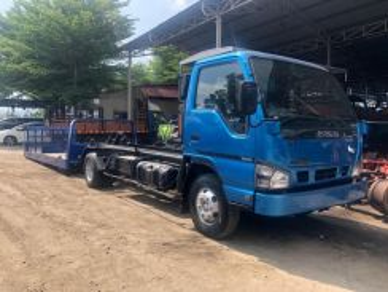 Isuzu new body car carrier towing hino R/T DIS 50%