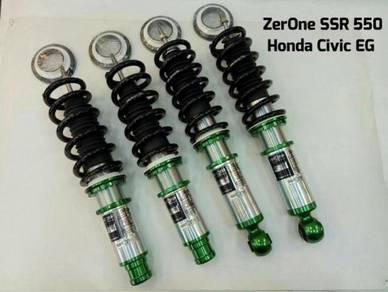 ZERONE SSR550 Fully Adjustalbe Honda Civic EG EF