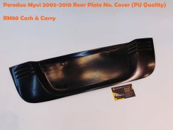 Perodua Myvi 2005-11 Rear Boot Plate No. Cover