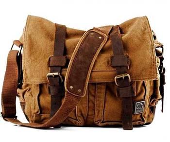 21801 Military Retro Vintage Crossbody Sling bag
