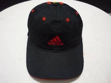 Topi adidas trucker cap hat 3 stripe