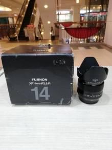 Fujifilm xf 14mm f2.8 r lens - 99% new