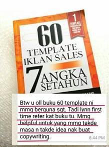 Buku 60 template iklan