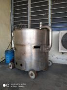 Stainless Steel Gas Dry Meat Floss Making Machine