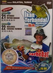 DVD Ikan Terhandal Lokasi Malaysia Taiwan