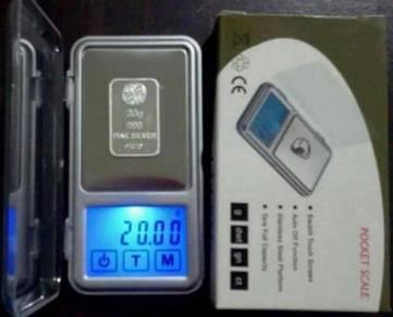 Timbang Digital Poket Saiz