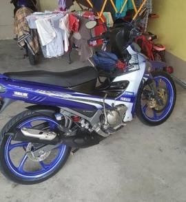 2012 Yamaha 125zr gp edition