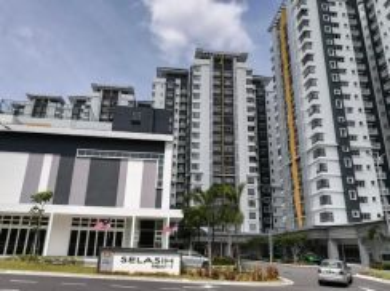 Apartment Selasih Partly Furnished Presint 17 Putrajaya