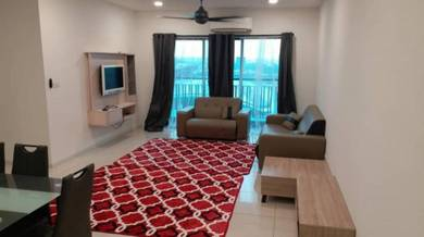 Fully furnished, 4r2b For Rent Emira Residence Section 13, Shah Alam