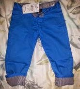 Zara Baby Blue Denim