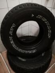 Dunlop grantrek at1 4x4 31 10.5 r15