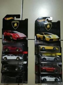 Hotwheels Lamborghini series