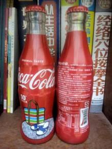 TAIWAN COCA COLA 2 x 250ml Glass bottles