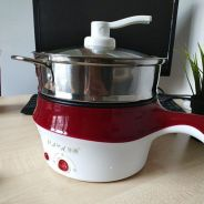 Lopol Electric NonStick Ceramic/Marble Frying Pan