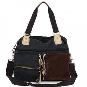 F4612 Retro Crossbody Travel Porter Big Sling Bag