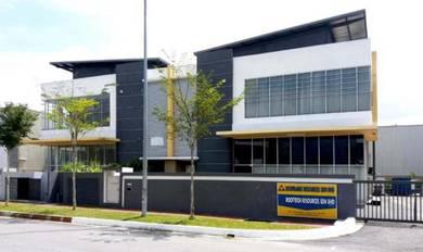 Semtec Technology Park Semenyih 1.5 Storey Semi-D Factory
