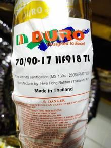 Duro tayar thailand tubeless 70*90*17