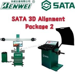 SATA 3D ALIGNMENT with WHEEL BALANCING