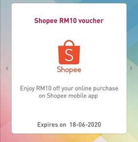 Online E-Voucher RM10