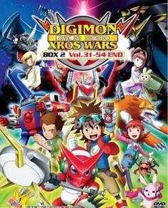 DVD ANIME Digimon Xros Wars Season 2 Vol.31-54End